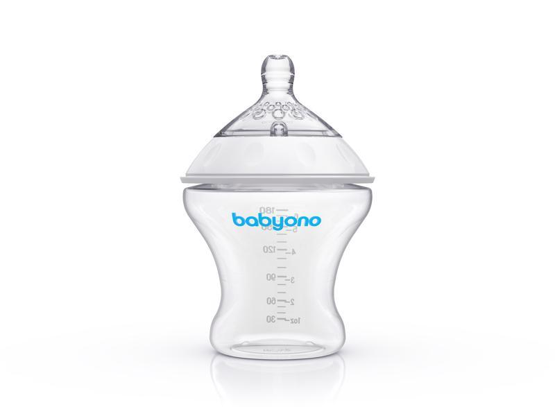 BABYONO Fľaša antikoliková Natural Nursing 180 ml