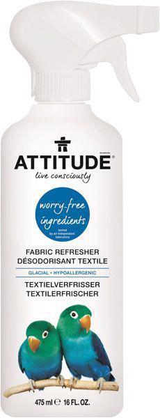 ATTITUDE Prírodný osviežovač textilu s vôňou ľadovca s rozprašovačom 475 ml