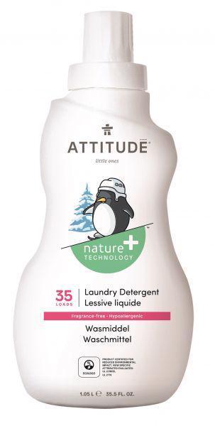 ATTITUDE Prací gél pre deti bez vône 1050 ml (35 praní)