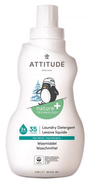 ATTITUDE Prací gél pre deti s vôňou hruškovej šťavy 1050 ml (35 pracích dávok)
