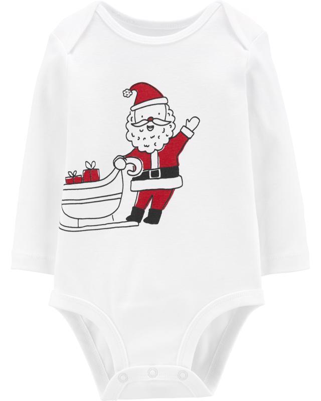 Body dlhý rukáv - Santa 1ks, 18m