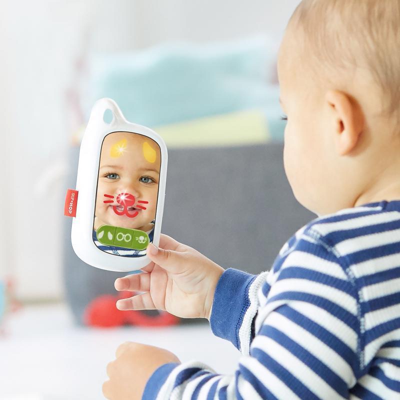 Hračka telefón Explore&More Selfie 6m+