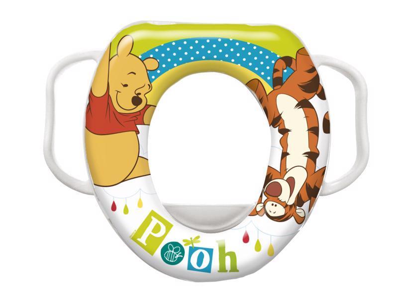 Redukcia na WC s úchytmi mäkká Olga Winnie Pooh