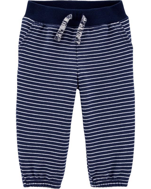 CARTER'S Nohavice dlhé Strips chlapec 12 m /veľ. 80