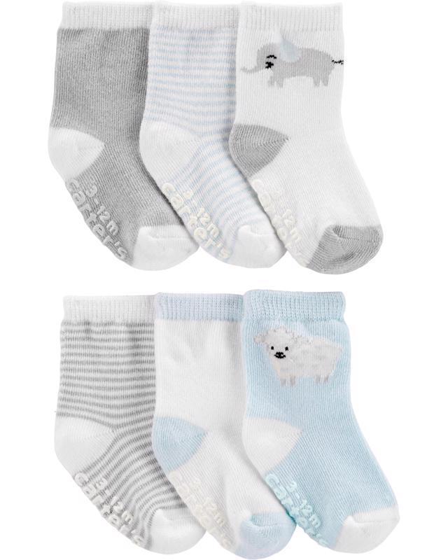 Ponožky Mix neutrál LBB 6ks, 12-24m