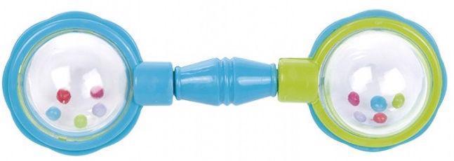 Hrkálka loptičky na činke - modrá