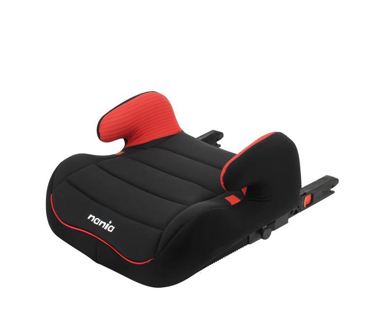 NANIA Podsedák/autosedačka Topo Easyfix Tech (22-36 kg) Red