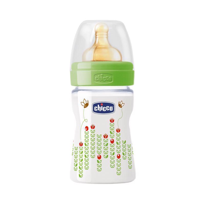Fľaša bez BPA Well-Being kaučukový cumlík normálny 150ml