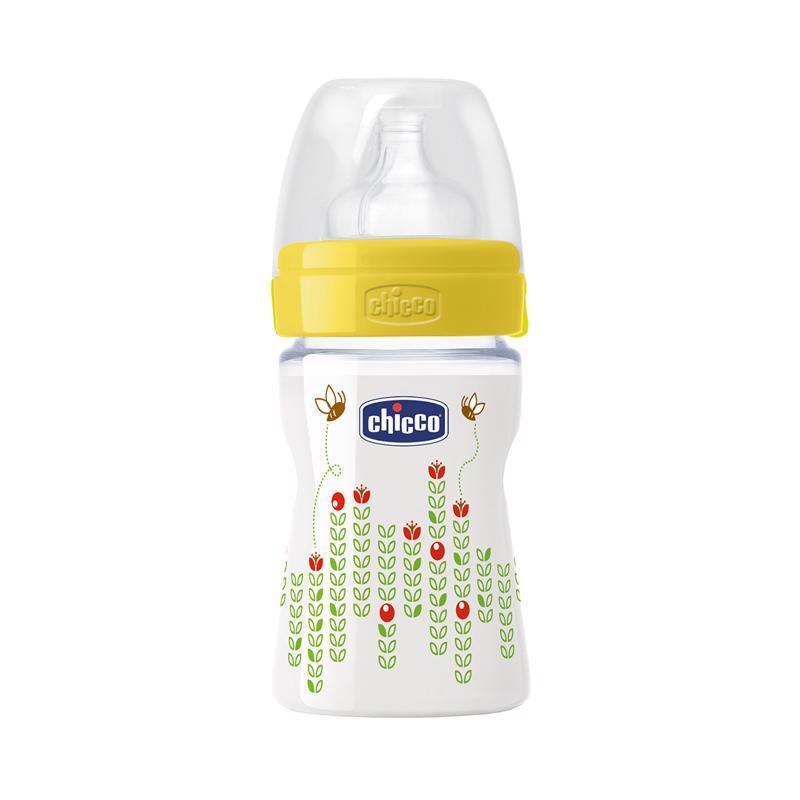 Fľaša bez BPA Well-Being silikónový cumlík normálny 150ml