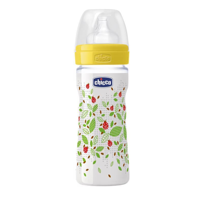 Fľaša bez BPA Well-Being silikónový cumlík stredný 250ml