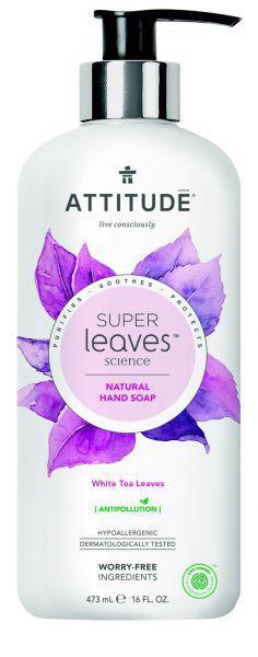 ATTITUDE Prírodné mydlo Super leaves detoxikačné - čajové listy 473 ml