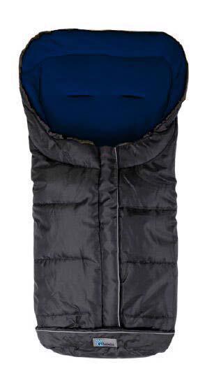 Fusak zimný Easy Lux čierno - modrá