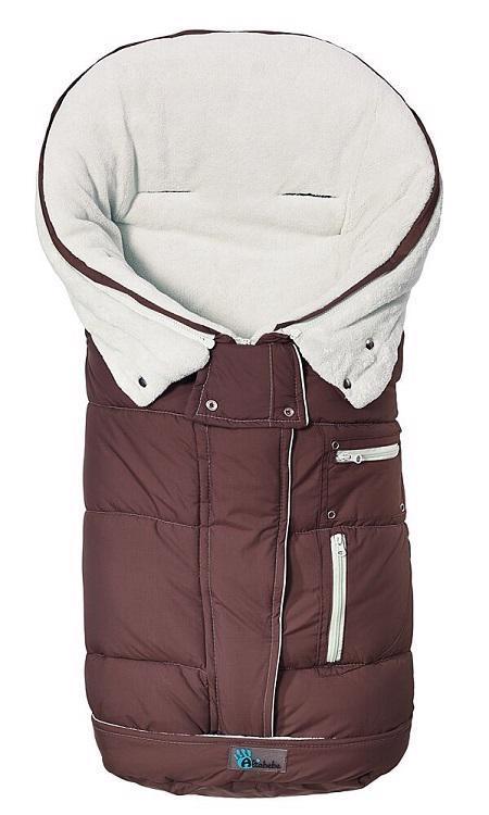 Fusak zimný rozšířitelný TOP Guard hnedo - biela,  hnědo - bílá