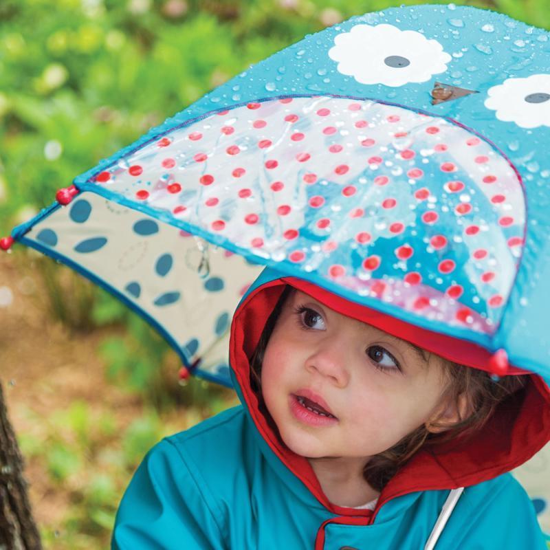 Zoo dáždnik s okienkom na výhľad Sovička 3+