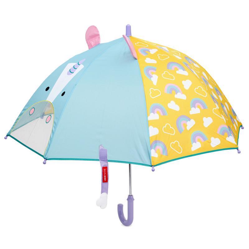Zoo dáždnik s okienkom na výhľad Jednorožec 3+