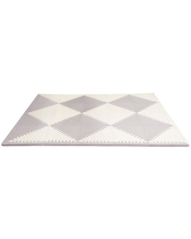 SKIP HOP Puzzle penové šedo-béžové 72 ks, 10 m+,  V000102