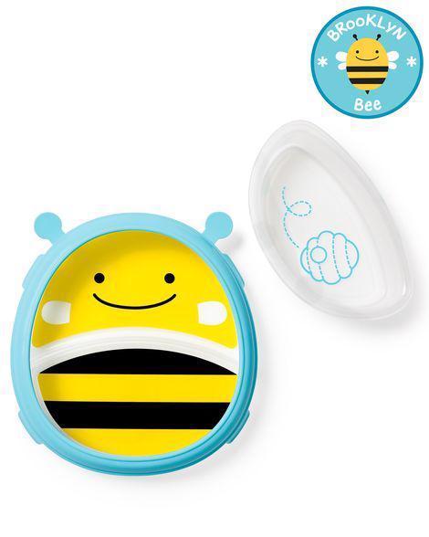 Zoo 2v1 - tanier a miska včielka