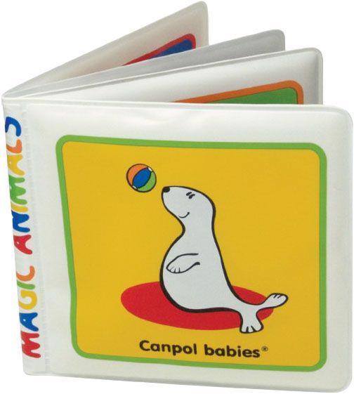 CANPOL BABIES Mäkká knižka pískacia vyfarbovacia - mrož