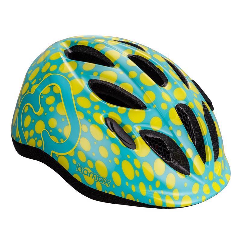 HAMAX Cyklohelma Skydive Green/Yellow 45-50,  V001368