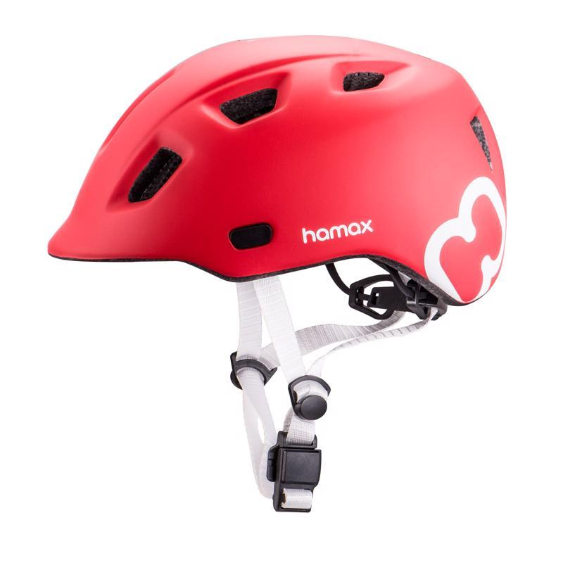 HAMAX Cyklohelma Thundercap Red/Silver 47-52,  V001371