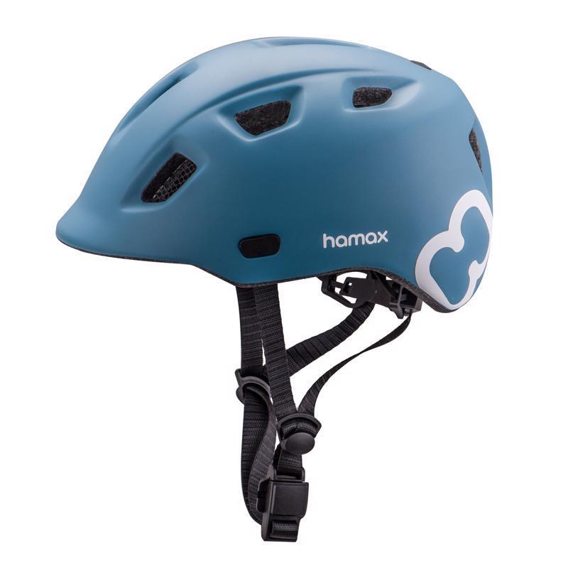 HAMAX Cyklohelma Thundercap Blue/Blue 47-52,  V001371