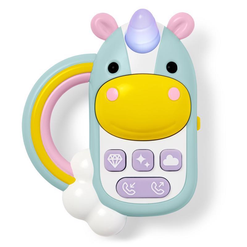 Hračka hudobná telefón - Jednorožec 6m+