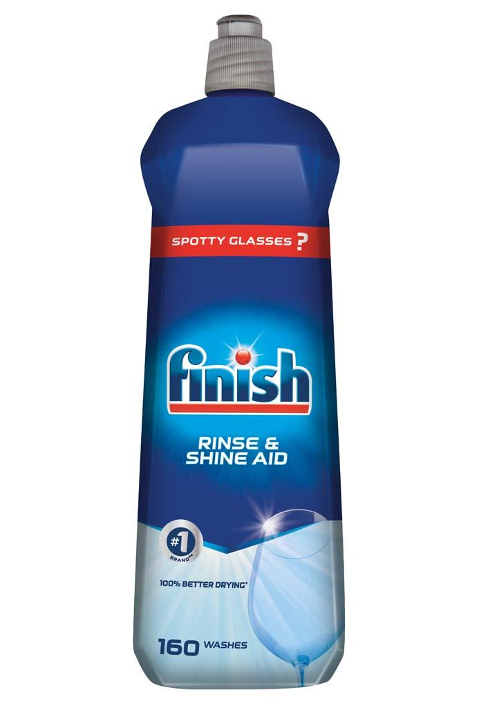 FINISH Leštidlo Shine & Dry Regular 800 ml