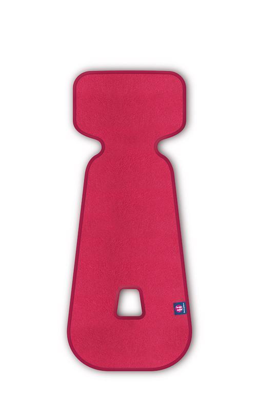 Vložka do autosedačky 3D Aero ružová 9-18 kg Petite&Mars