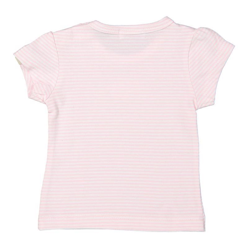Tričko A-SO SOFT ONE OF A KIND 74 Light pink stripe