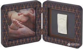 BABY ART Rámček na odtlačky My Baby Touch - Simple Coopper Edditon Dark Grey,  V001122