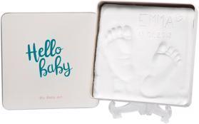 BABY ART Krabička na odtlačky Magic Box - square Essentials,  V001114