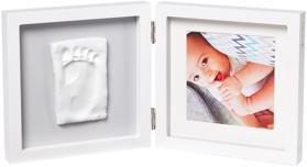 BABY ART Rámček na odtlačky a fotografiu My Baby Style - Simple Grey,  V001115