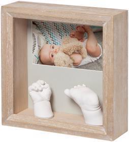 BABY ART Rámček na odliatky a fotografiu My Baby Sculpture Stormy,  V001116