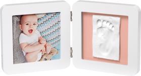 BABY ART Rámček na odtlačky a fotografiu My Baby Touch - Simple White,  V001115