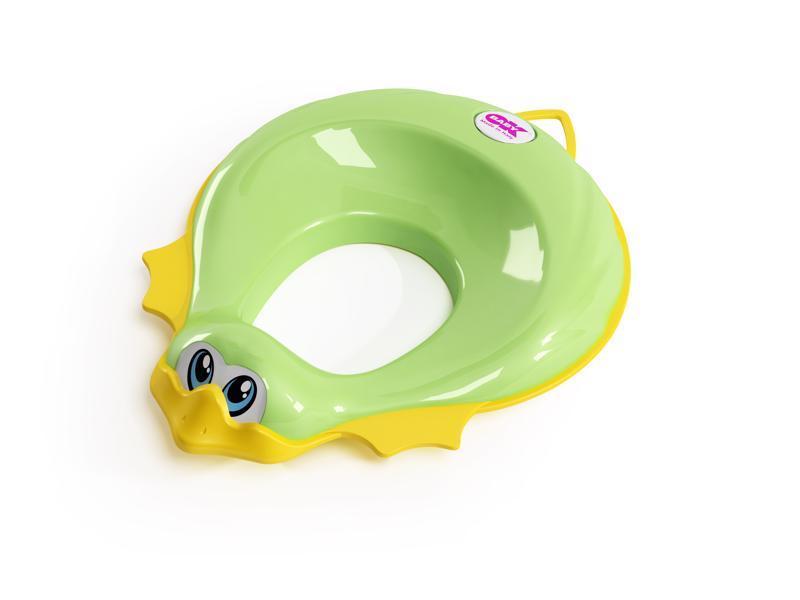 OK BABY Redukcia na WC Ducka zelená 44,  V000753
