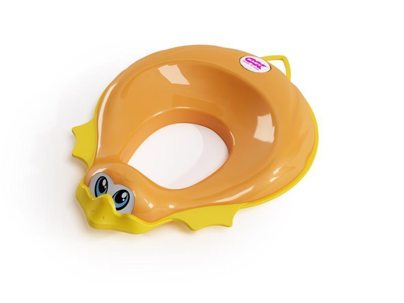 OK BABY Redukcia na WC Ducka oranžová 45