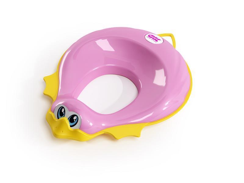 OK BABY Redukcia na WC Ducka ružová 66