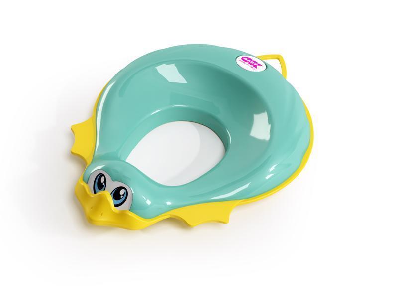 OK BABY Redukcia na WC Ducka tyrkysová 72,  V000753