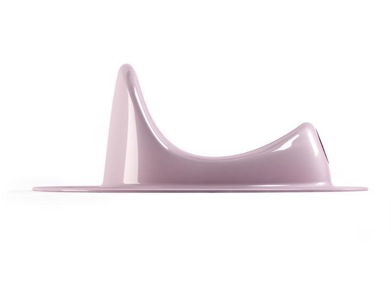 Redukcia na WC Ergo svetlo ružová 54
