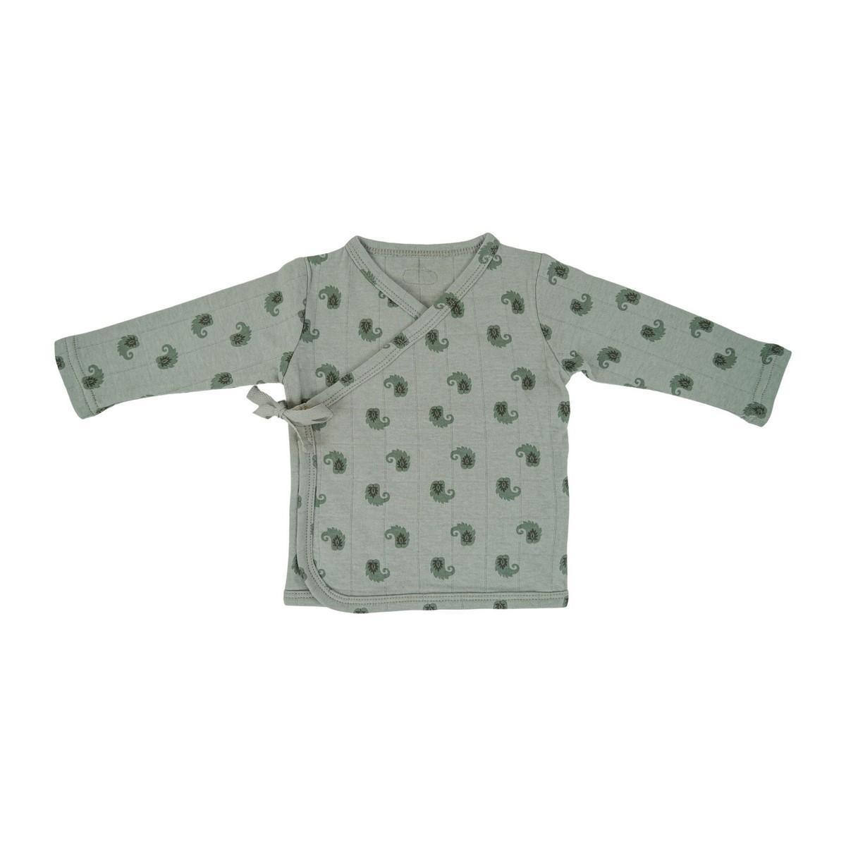 LODGER Kabátik detský s dlhými rukávmi Topper Flame Tribe Silt Green veľ. 62
