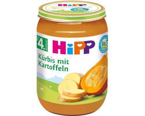 Príkrm zeleninový BIO Tekvica so zemiakmi 190g Hipp