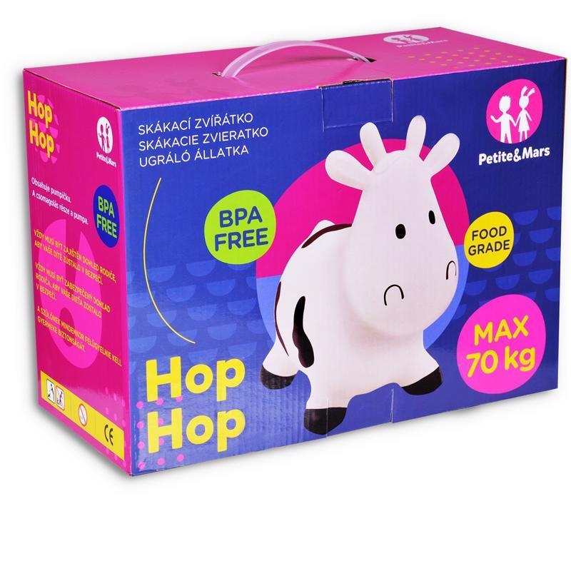 Zvieratko skákacie Hop Hop koník Joe Petite&Mars + pumpa