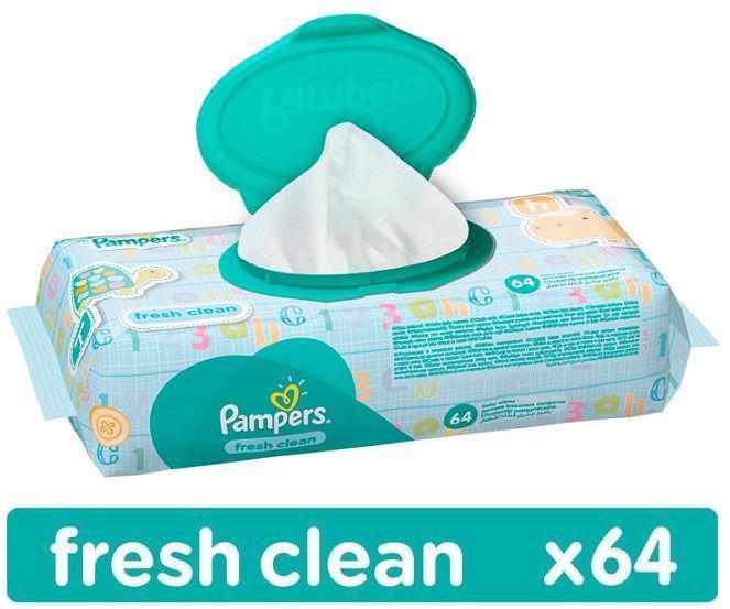 Obrúsky vlhčené Fresh Clean 64 ks Pampers
