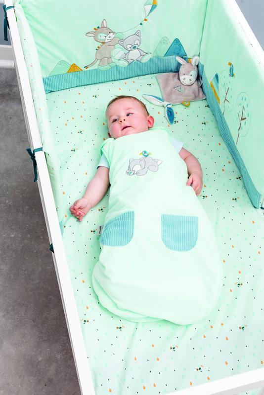 NATTOU Ochranné hniezdo pre bábätko do postieľky Tim&Tiloo
