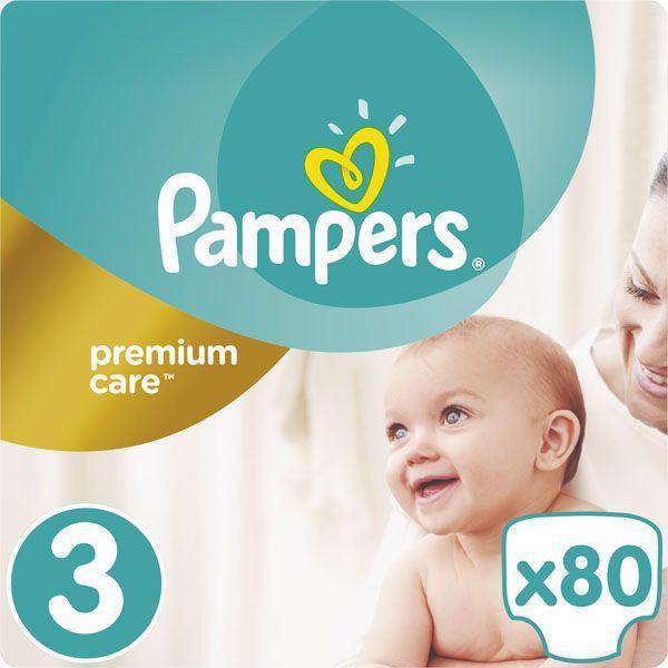 Pleny Premium Care 3 MIDI 5-9kg 80ks Pampers