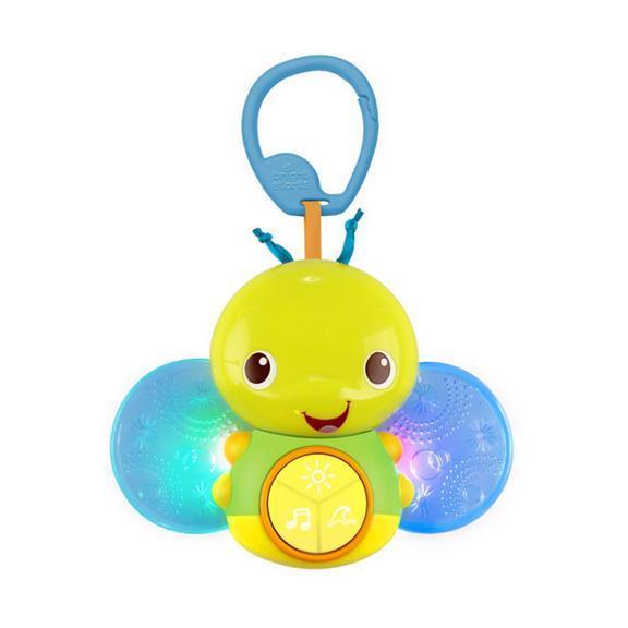 Hračka svietiacia včielka s melódiou na C krúžku Beaming Buggie™ 0m+