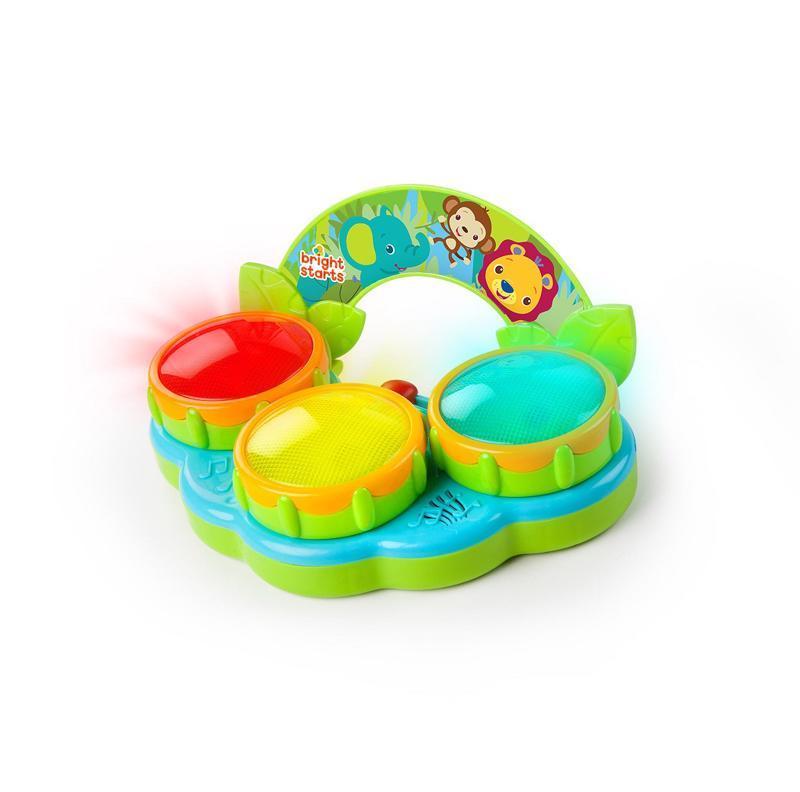 BRIGHT STARTS Hračka bubny Safari Beats™ 3m+