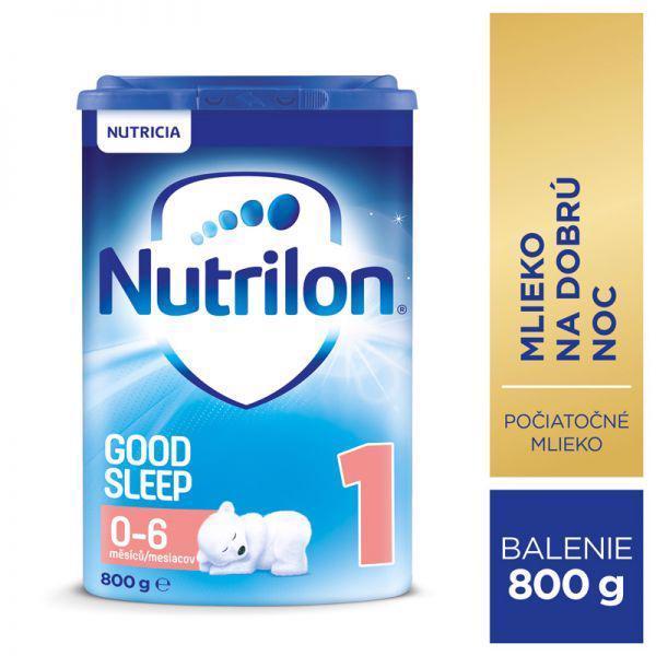 Mlieko dojčenské NUTRILON 1 ProNutra Good Sleep 800g