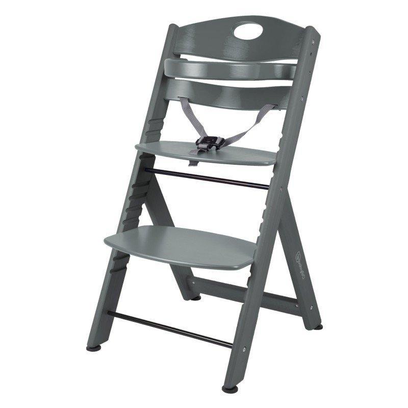 BABYGO Jedálenská stolička Family XL Grey