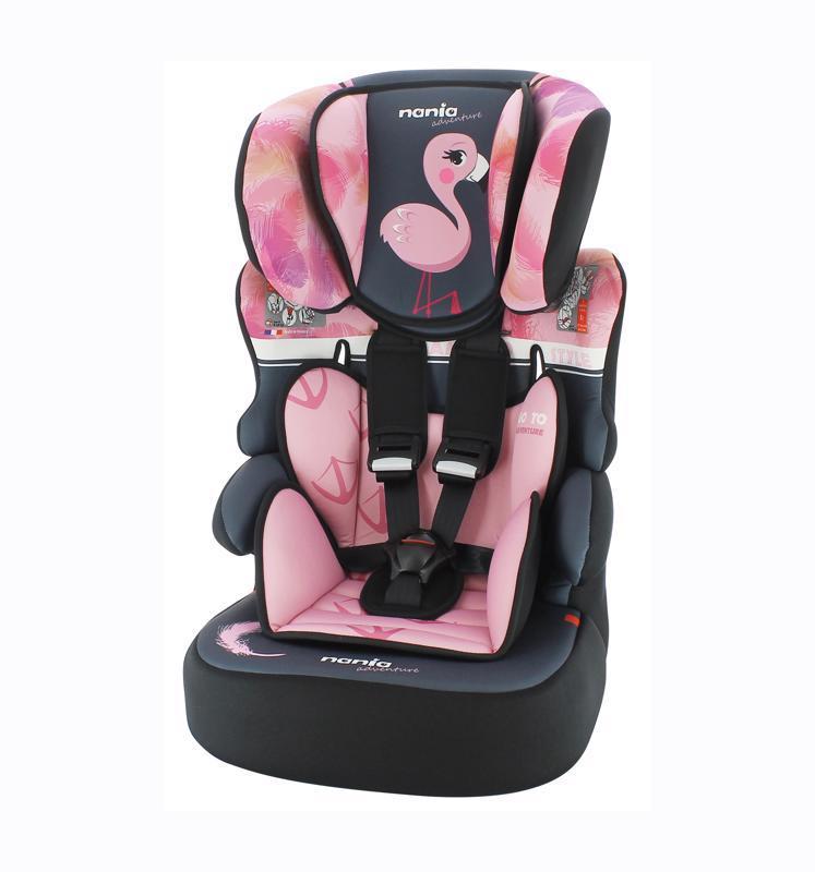 Autosedačka Beline Adventure Flamingo 9-36kg
